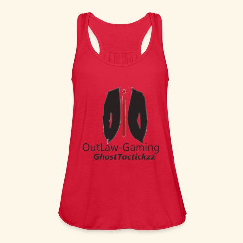 logo9 - Women's Flowy Tank Top by Bella