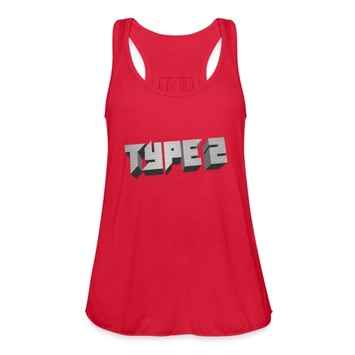 Type 2 - Women's Flowy Tank Top by Bella