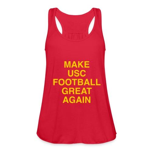 Make USC Football Great Again - Women's Flowy Tank Top by Bella