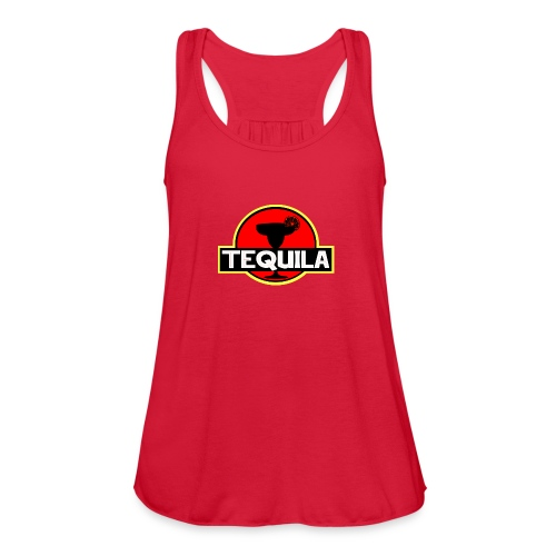 Tequila JP - Women's Flowy Tank Top by Bella
