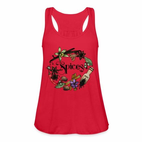 Spices - Women's Flowy Tank Top by Bella