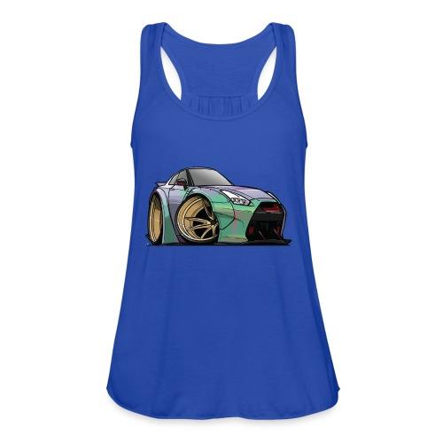 R35 GTR - Women's Flowy Tank Top by Bella
