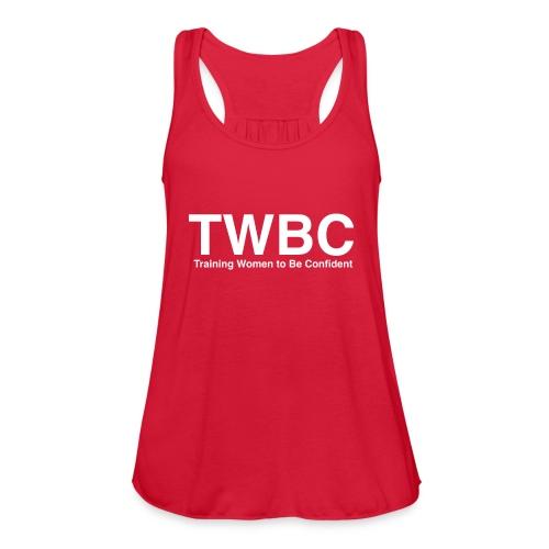 TWBC Shirt Back - Women's Flowy Tank Top by Bella