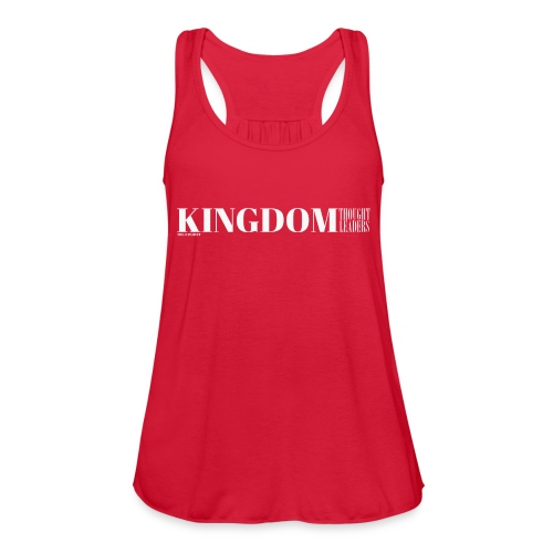 Kingdom Thought Leaders - Women's Flowy Tank Top by Bella