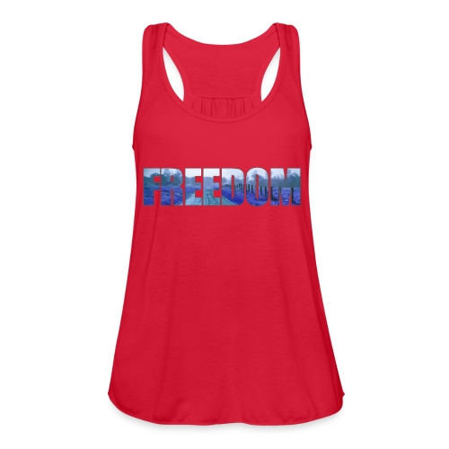 Freedom Photography Style - Women's Flowy Tank Top by Bella