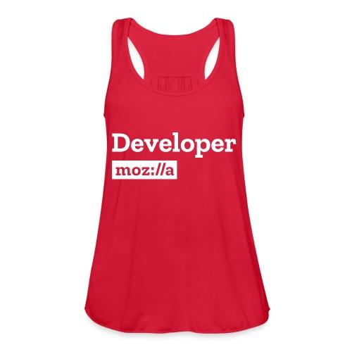 Developer - Women's Flowy Tank Top by Bella