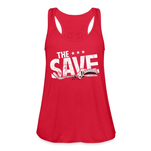 The Save - Women's Flowy Tank Top by Bella