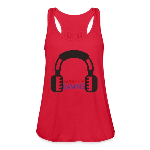 SALSUNSHINE GAMING LOGO - Women's Flowy Tank Top by Bella