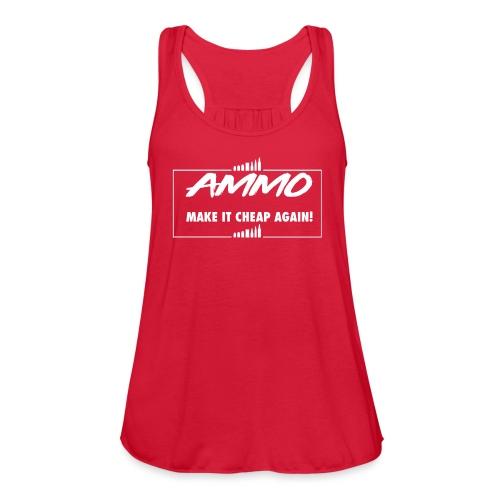 AMMO - Women's Flowy Tank Top by Bella