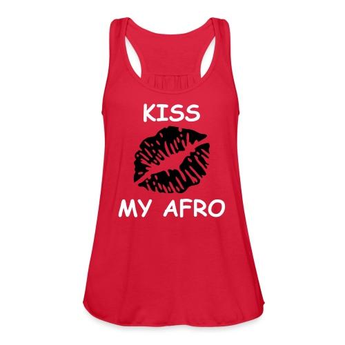 kiss - Women's Flowy Tank Top by Bella