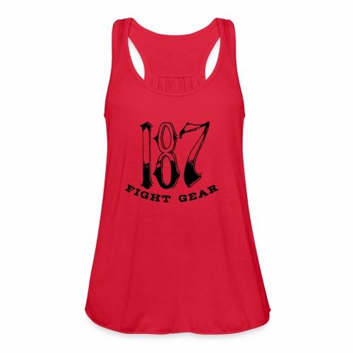Trevor Loomes 187 Fight Gear Logo Best Sellers - Women's Flowy Tank Top by Bella