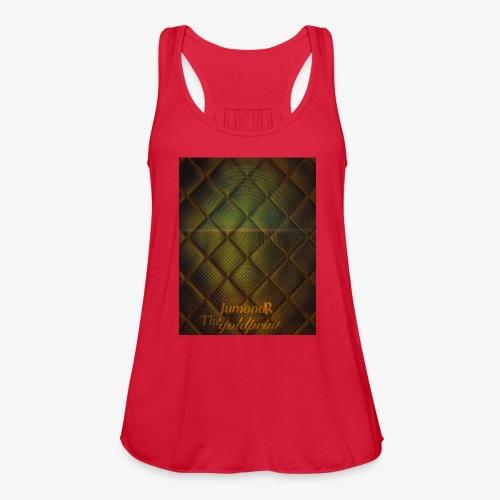JumondR The goldprint - Women's Flowy Tank Top by Bella