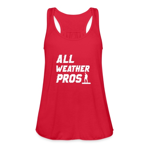 Messenger 841 All Weather Pros Logo T-shirt - Women's Flowy Tank Top by Bella