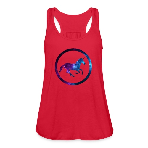 Believe Unicorn Universe 3 - Women's Flowy Tank Top by Bella