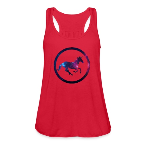 Believe Unicorn Universe 1 - Women's Flowy Tank Top by Bella