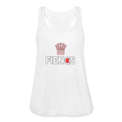 Fiends Design - Women's Flowy Tank Top by Bella