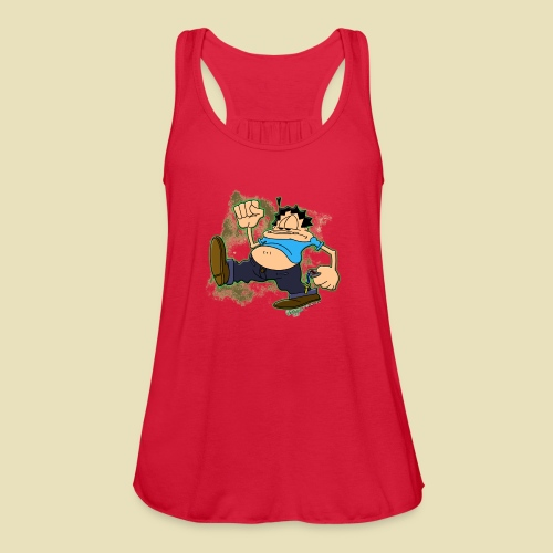 Ongher's UFO Ongher March - Women's Flowy Tank Top by Bella