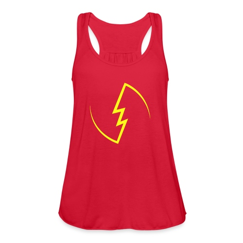 Electric Spark - Women's Flowy Tank Top by Bella