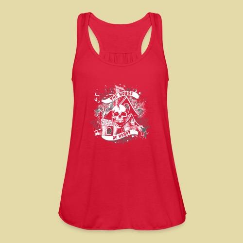 hoh_tshirt_skullhouse - Women's Flowy Tank Top by Bella