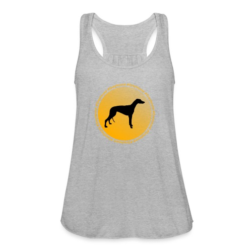 Greyhound - Women's Flowy Tank Top by Bella