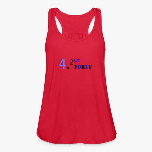 Logo 2 - Women's Flowy Tank Top by Bella