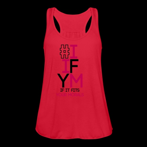 iifym - Women's Flowy Tank Top by Bella