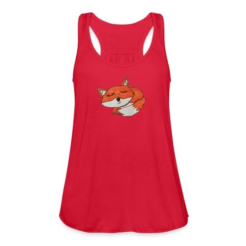 Lexi Revels1 fox 2 - Women's Flowy Tank Top by Bella