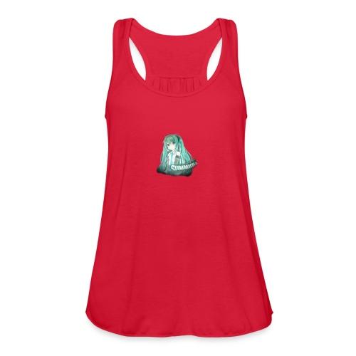 Summrrz Logo Transparent - Women's Flowy Tank Top by Bella