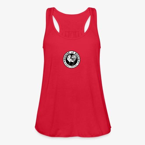 House of Rock round logo - Women's Flowy Tank Top by Bella