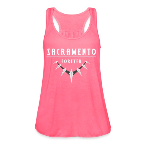 Sacramento Forever Limited Edition - Women's Flowy Tank Top by Bella