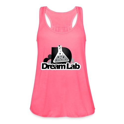DreamLab Black/Gray - Women's Flowy Tank Top by Bella