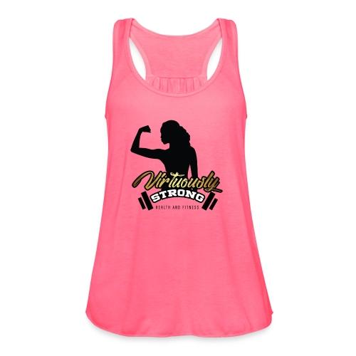 VS Logo - Women's Flowy Tank Top by Bella