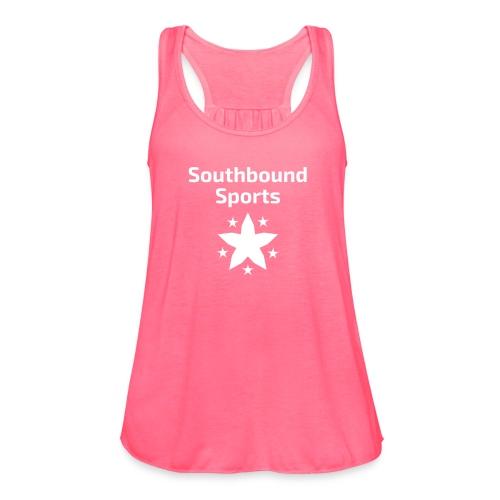 Southbound Sports Stars Logo - Women's Flowy Tank Top by Bella
