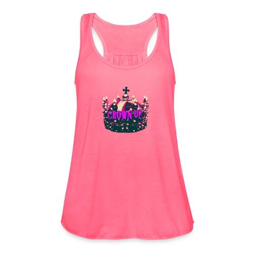 Crown Up T Shirt Female 2 - Women's Flowy Tank Top by Bella