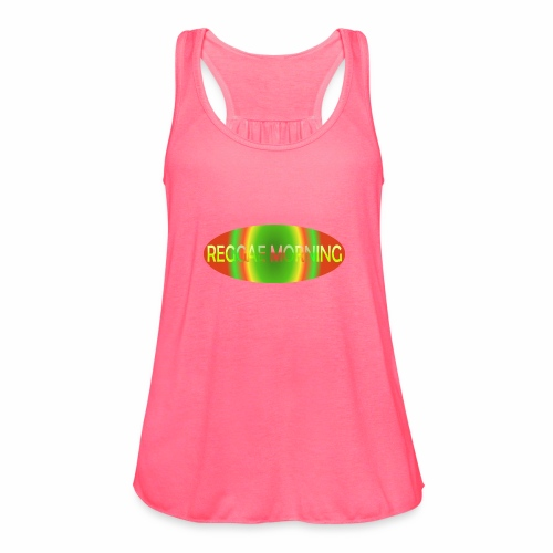Reggae Morning Spiral - Women's Flowy Tank Top by Bella