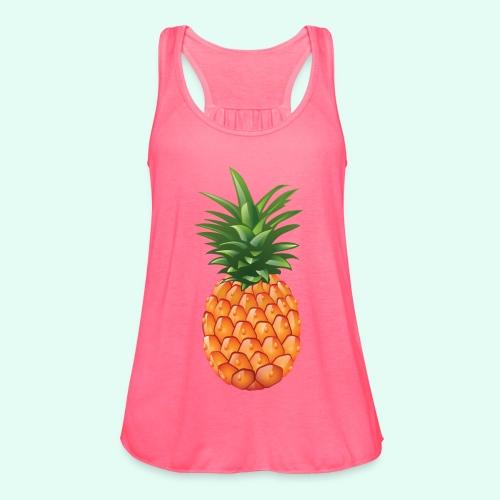 pineapple testshop - Women's Flowy Tank Top by Bella