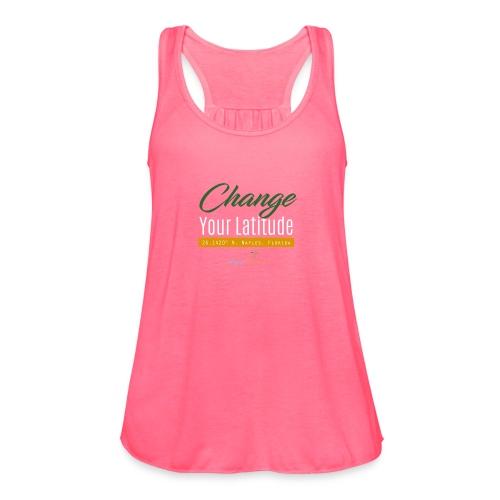 Change Your Latitude - Women's Flowy Tank Top by Bella