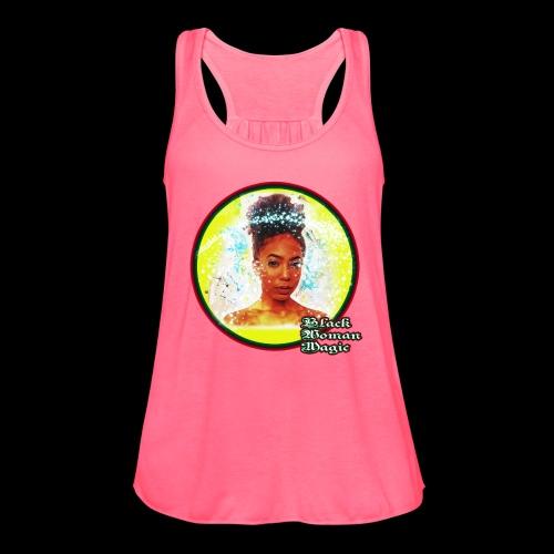 Black Woman Magic - Women's Flowy Tank Top by Bella