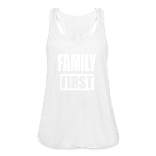 FAMILY FIRST T-SHIRT [MATCHING CLOTH/OUTFIT] - Women's Flowy Tank Top by Bella