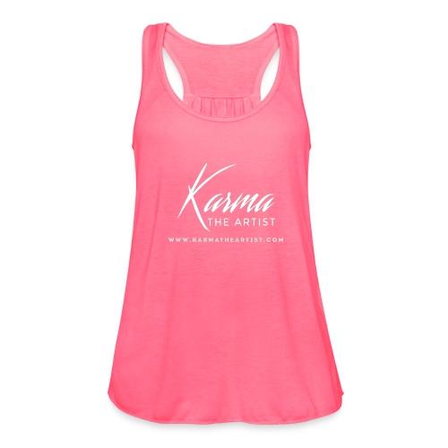 Karma - Women's Flowy Tank Top by Bella