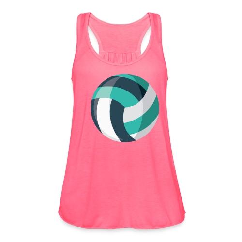 Volleyball - Women's Flowy Tank Top by Bella