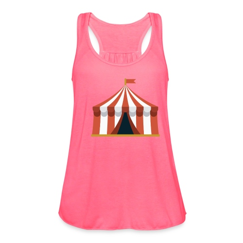 Striped Circus Tent - Women's Flowy Tank Top by Bella
