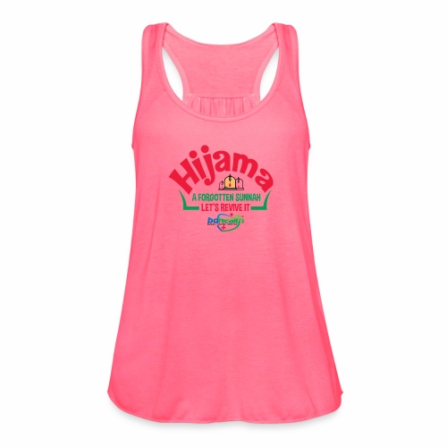 BD Health /Cupping/ Cupping therapy/ Hijama - Women's Flowy Tank Top by Bella