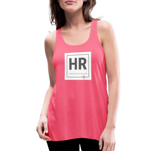 HR - HighRiskFashion Logo Shirt - Women's Flowy Tank Top by Bella