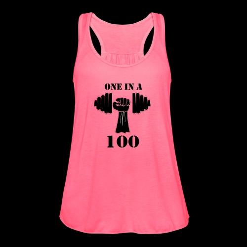OneInA100 - Women's Flowy Tank Top by Bella
