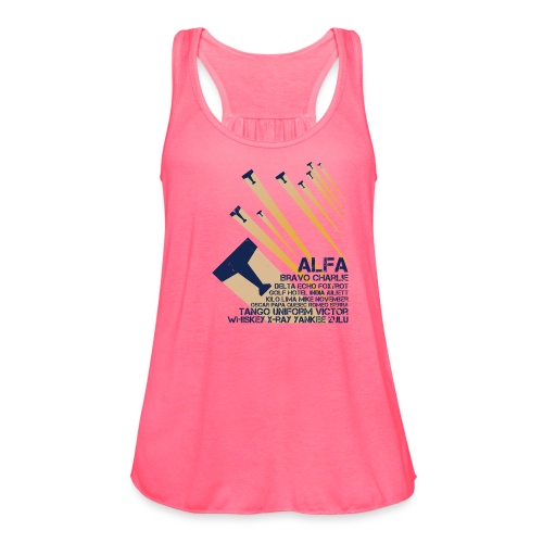 International Phonetic Alphabet - Women's Flowy Tank Top by Bella