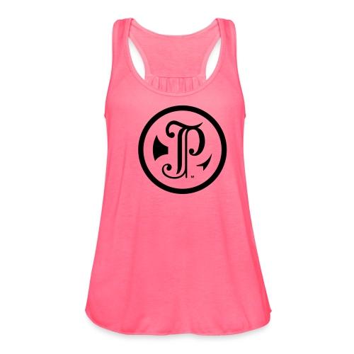 TP Logo - Women's Flowy Tank Top by Bella