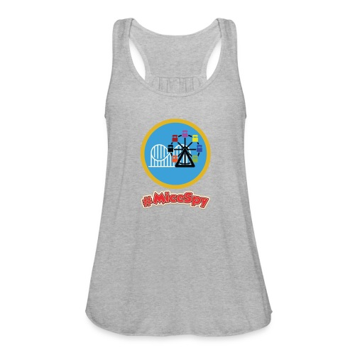 Paradise Pier Explorer Badge - Women's Flowy Tank Top by Bella