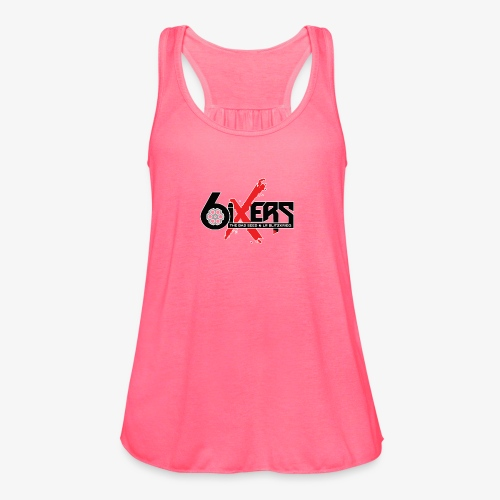 6ixersLogo - Women's Flowy Tank Top by Bella