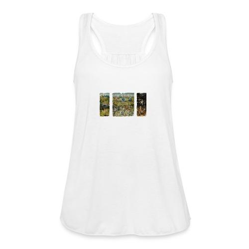 Garden Of Earthly Delights - Women's Flowy Tank Top by Bella